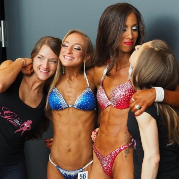 Bikini Athletinnen Team