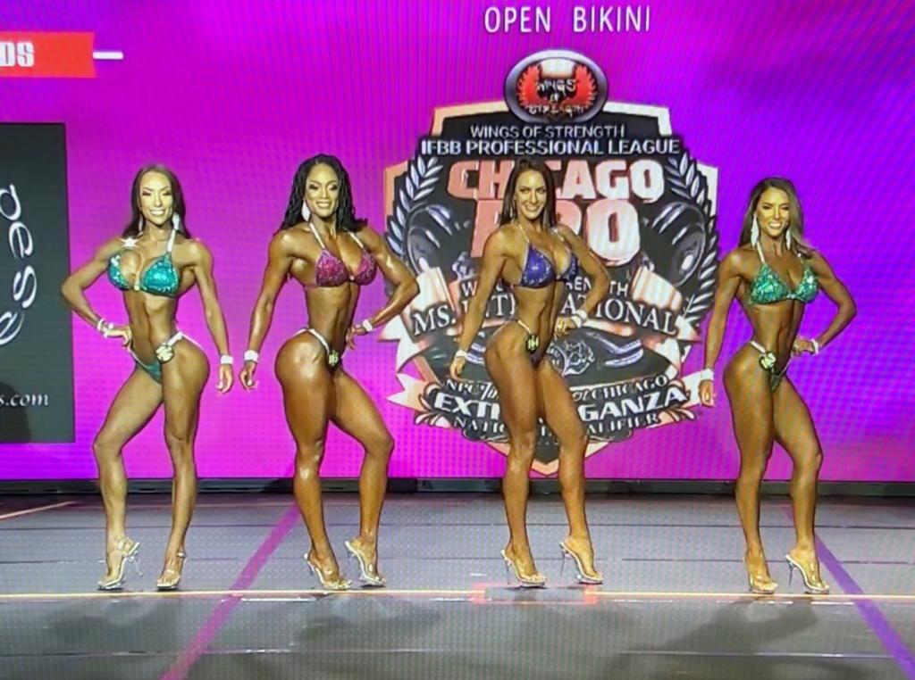 Bikini Fitness Open Chicago Pro Show 2021